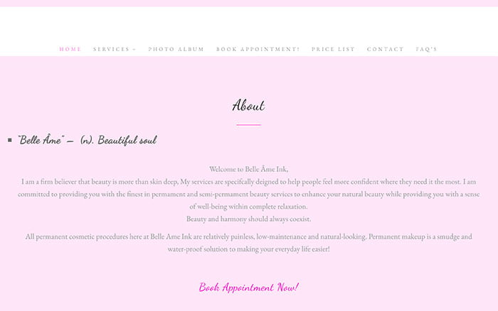 web-design-vancouver-belle-ame-ink